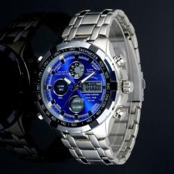 Reloj De Hombre Luz LED...